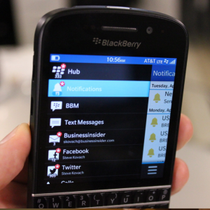 The Fall of An Empire – Blackberry