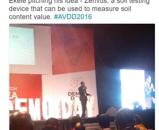 Aso Villa Demo Day Pitch of Fasmicro Team on Zenvus Smartfarm