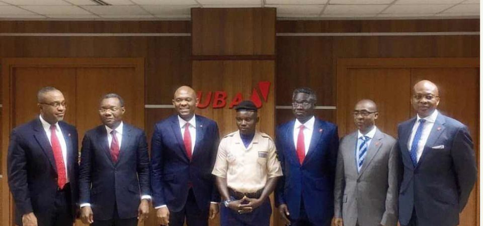 David Cameron should read about Mohammed Ibrahim Ogbanago of UBA Group, real Nigerians are honest