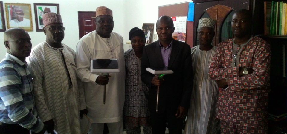 Zenvus is presented to Nigeria's Federal Ministry of Agriculture and Rural Development