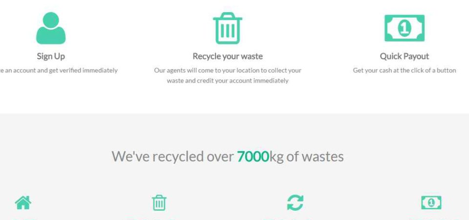 eTrash2Cash shares the vision of WeCyclers to empower Kano residents with Waste2Wealth