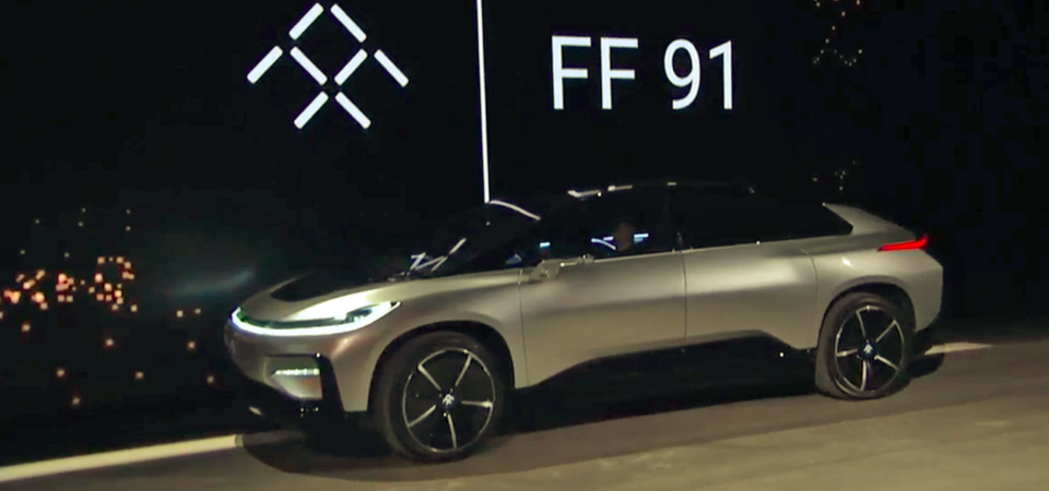 This is Faraday Future electric-car