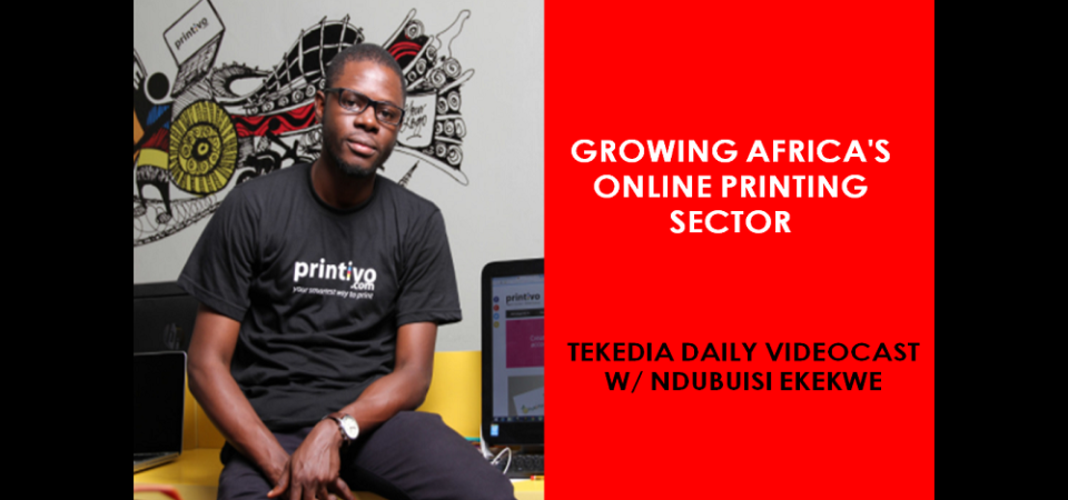 Growing Africa's Online Printing Sector [Video]