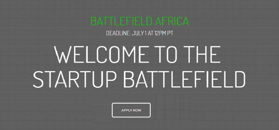 TechCrunch Battlefield Comes To Africa This October. Application Due July 1