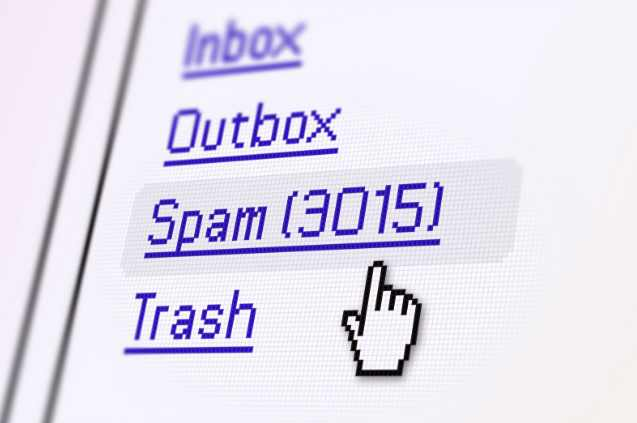Simple way to fix Spam Mail