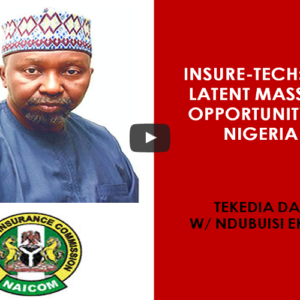 Insure-Tech: The Latent Massive Opportunity In Nigeria And Africa