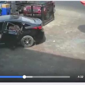 Troublesome Video of Robbers In Zenith Bank Owerri on CCTV Footage