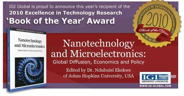 "[Book Presentation] IGI Global 2010 ""Book of the Year"" Award Book Will Be Presented in University of Nairobi"