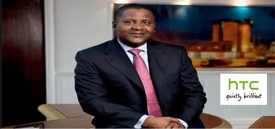Dangote Should Buy HTC, The Struggling Taiwanese Phone Maker