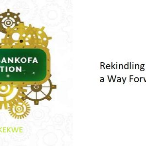 2.0 – Rekindling the Spirit, a Way Forward