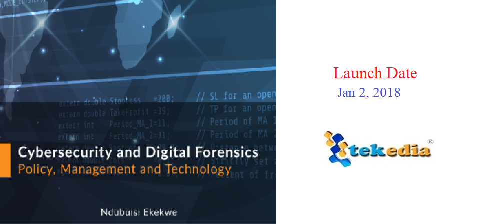 """New Book """"Cybersecurity and Digital Forensics"""" Out Jan 2"""