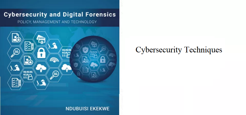 7.3 – Cybersecurity Techniques