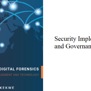4.4 – Security Implementation and Governance