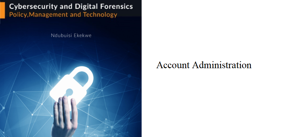 2.1 – Account Administration