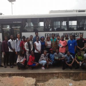 FUTO Students Visit My Design Center in Nigeria (Photos)