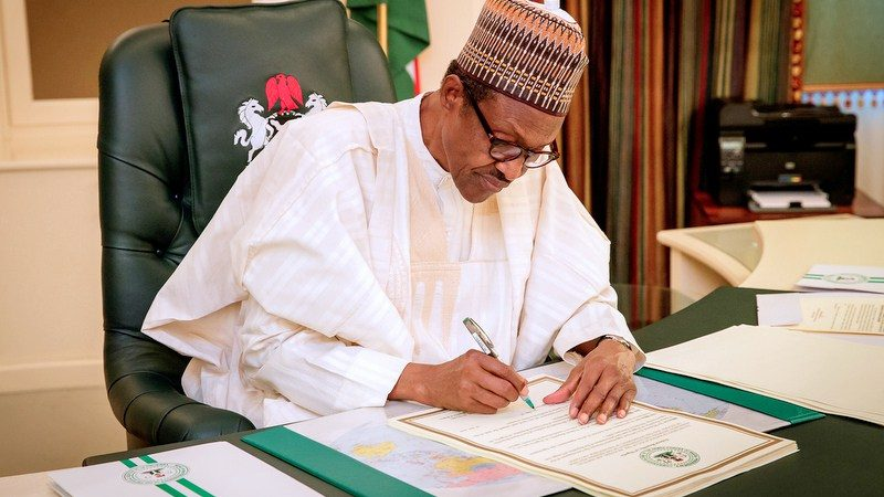 Buhari Signs N11 Trillion ($31 Billion) 2020 Nigeria Budget