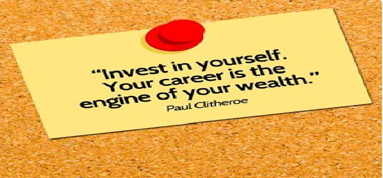 Time for Everything – Invest in Your Career