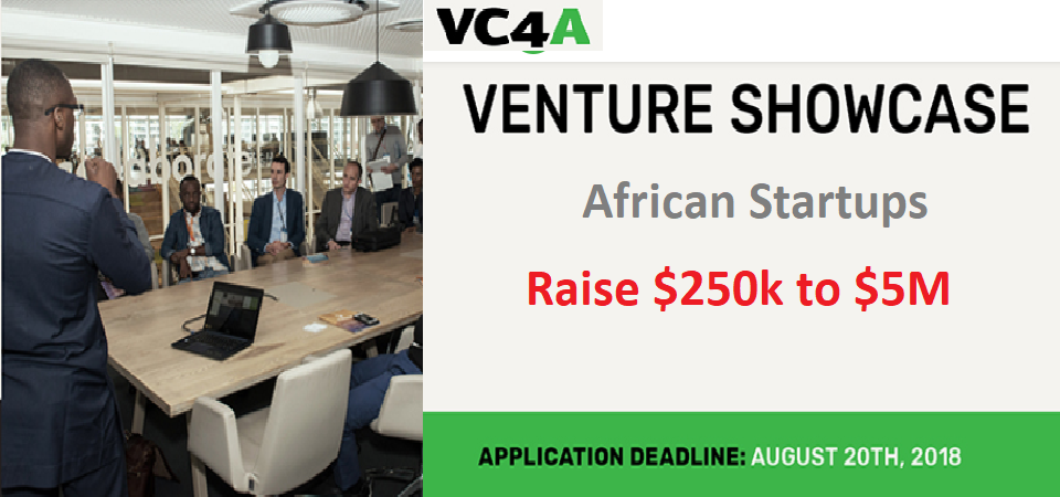 [APPLY] VC4A Unveils Funding for African Startups – $250K to $5M