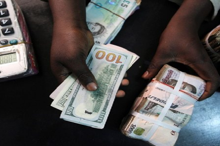 What is the (parallel) exchange rate of Naira for USD now?