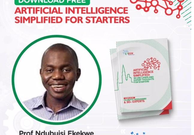 The Best AI Book Ever Published in Africa; Download on Kindle,iBook, etc