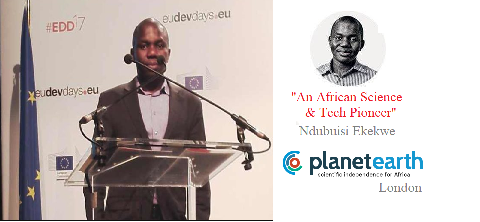 """Visiting London; Planet Earth (UK) Inclusion in """"Five African Science & Technology Pioneers"""""""