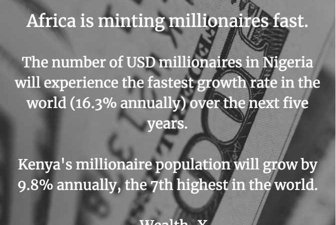 Nigeria, Ahead of China, Creating Millionaires at the Fastest Rate in the World – CNBC, Wealth-X