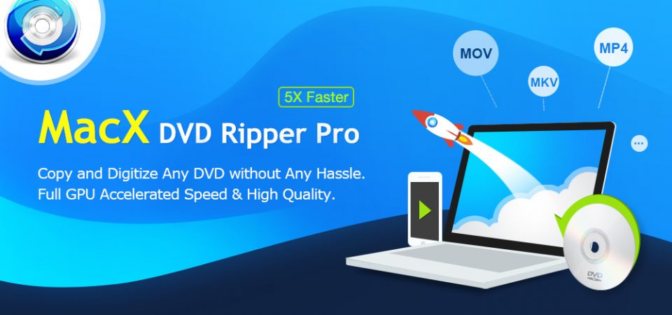 Easily Copy and Digitize DVD with MacX DVD Ripper Pro [Giveaway]