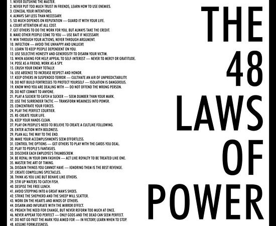 """A Law Of Power – """"Never Outshine The Master"""""""