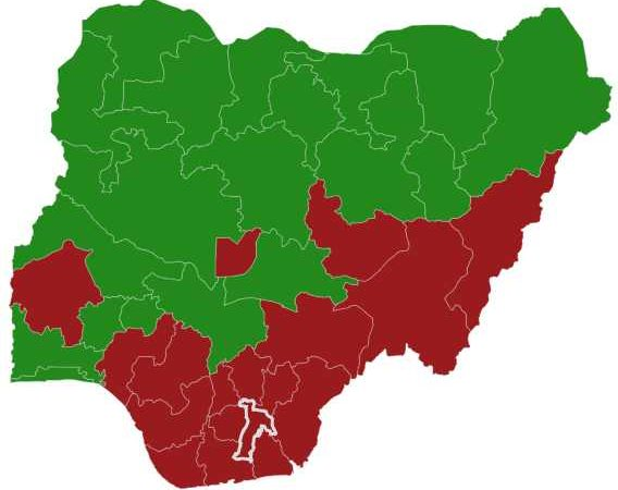 Final Results of Nigeria's 2019 Presidential Election by States – APC (19), PDP (18)