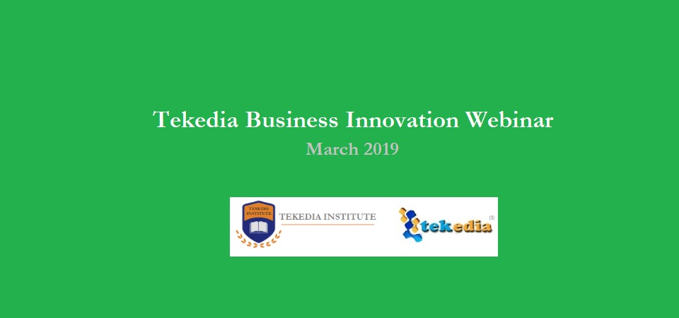 Tekedia Webinar Update – Week-Long Webinar Replay and Q/A Plan