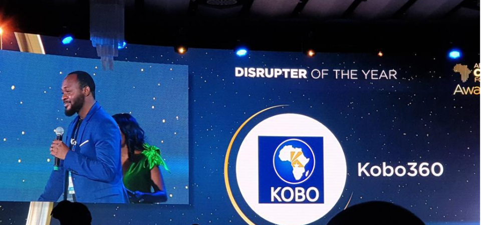 "Kobo360 Wins Africa CEO Forum ""Disrupter of the Year"" Award"