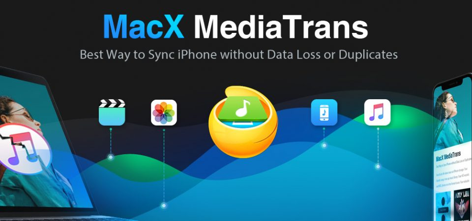 MacX MediaTrans Is an Impressive iTunes alternative for Mac to Sync iPhone to Mac