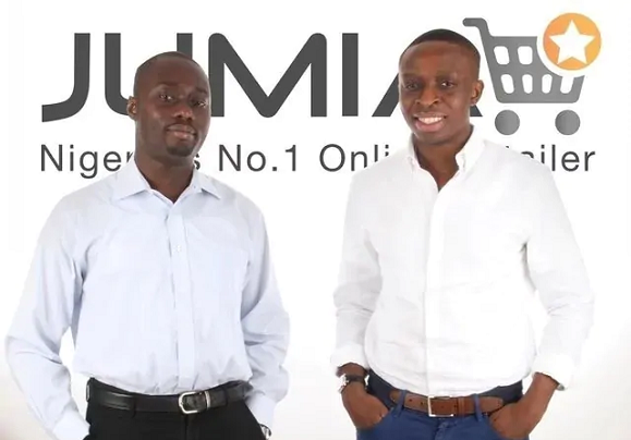 The Jumia Founders – Raphael Afaedor, Tunde Kehinde and Sacha Poignonnec