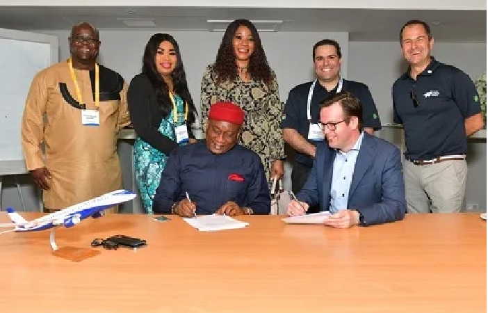 Nigeria's Air Peace Sets Record – Orders New Embraer Aircrafts for US$2.12 billion