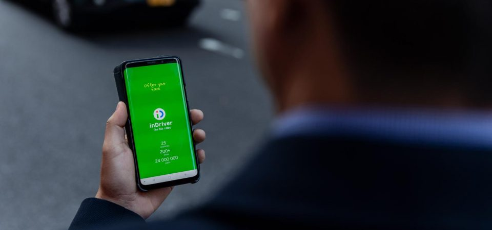 inDriver Goes After Uber and Taxify with Centuries-Old Price Haggling