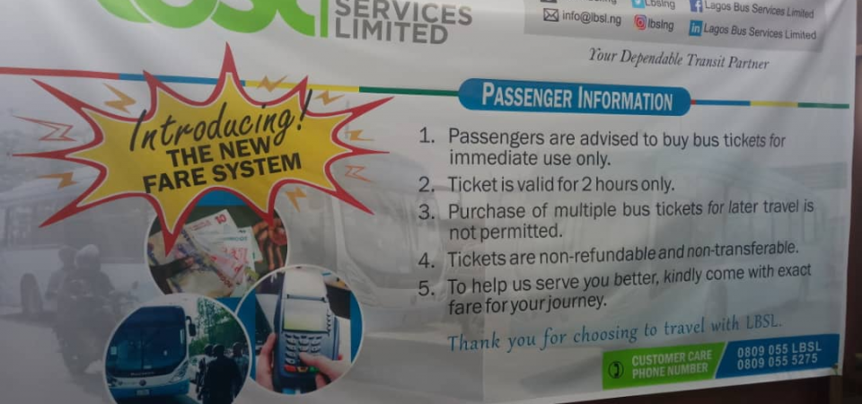 The New Lagos Bus Fare System is GREAT