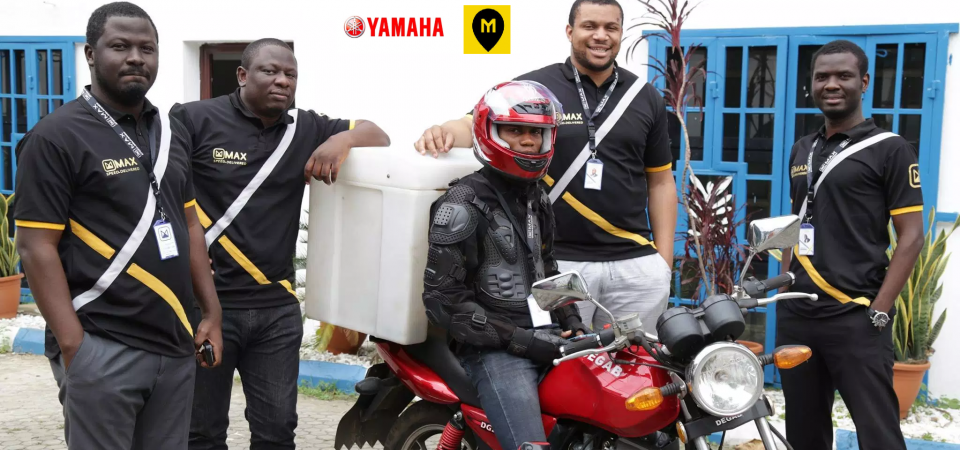 Yamaha Invests in Nigeria's Motorcycle Ride Hailer MAX .ng Which Raised $7 Million