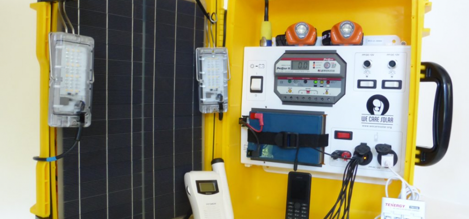 WeCare Solar Suitcase is Providing Healthcare Access in Rural Communities