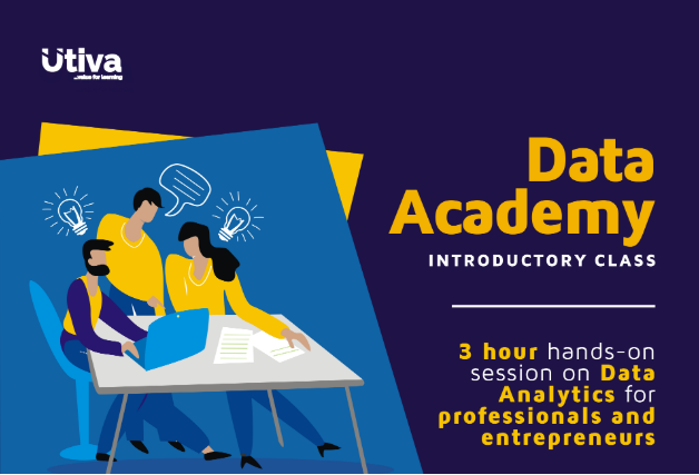 [Apply, free] Utiva Unveils Data Analytics for Professionals and Entrepreneurs, Lagos
