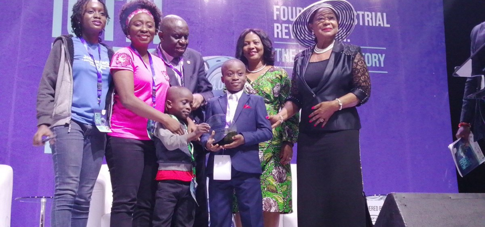 Joshua Agboola Child Prodigy Steals The Show at LCCI ICTEL EXPO 2019 [Video]