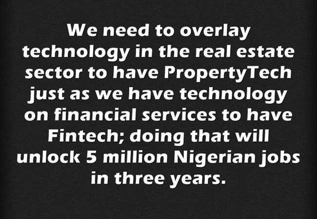 Time for #PropertyTech in Nigeria