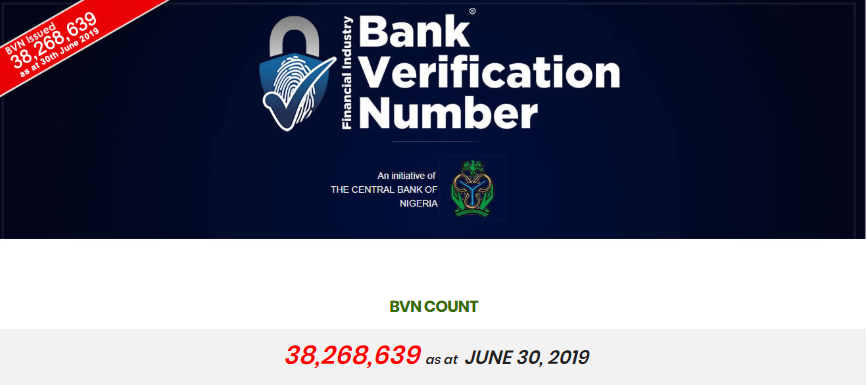 The Nigeria's Central Bank 100 Million BVNs Target