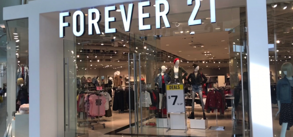 The Amazon Effect Breezes Forever 21 Into Bankruptcy