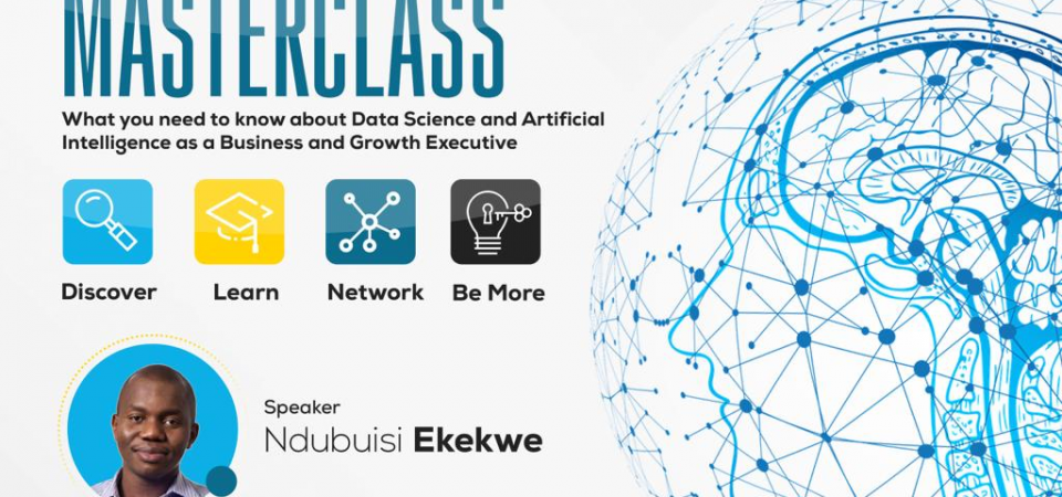 A Masterclass on AI in Business – Oct 18, Lagos