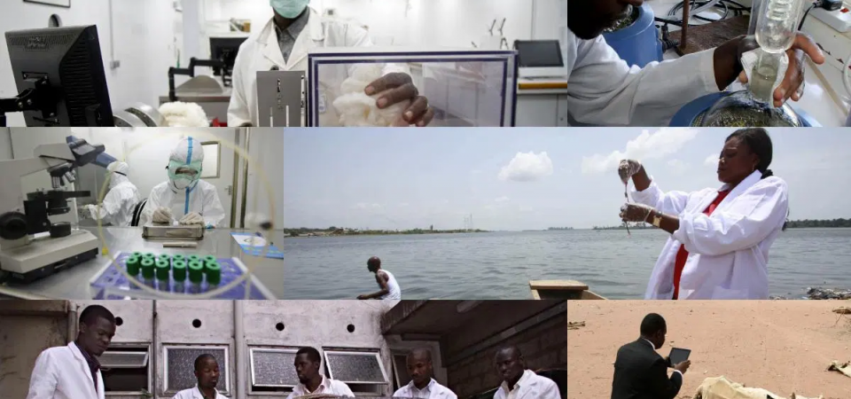 A Lab for Einsteina:  'Witches' Might Be Africa's Lost Scientists