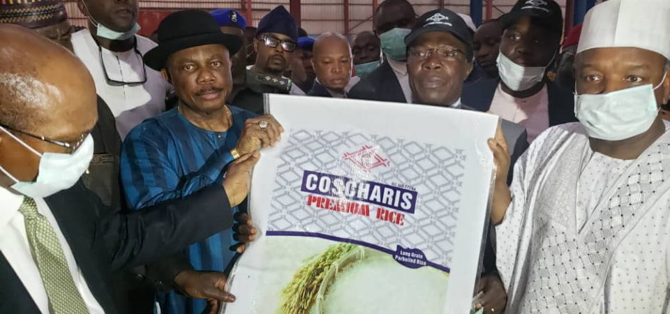 Coscharis Group Unveils a N12 Billion Farm, Rice Mill in Anambra State