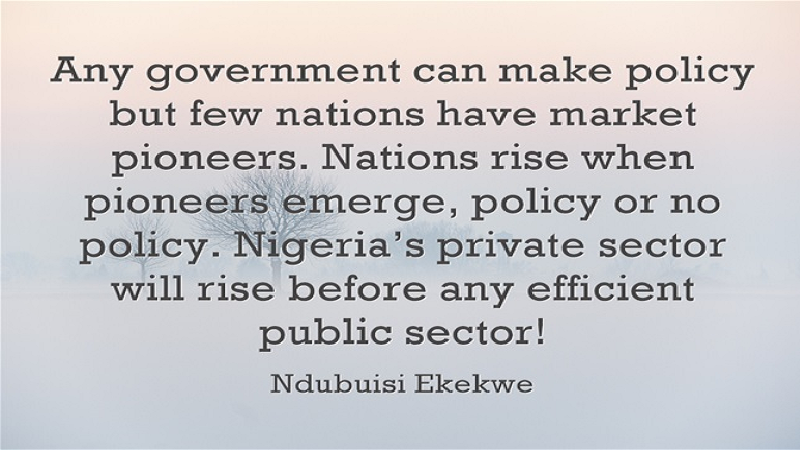 """The Mirage of """"Enabling Environment"""" for Business in Nigeria"""