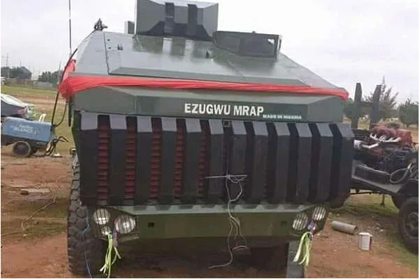 This is Ezugwu – Nigeria's Army Armoured Vehicles Designed in Nigeria
