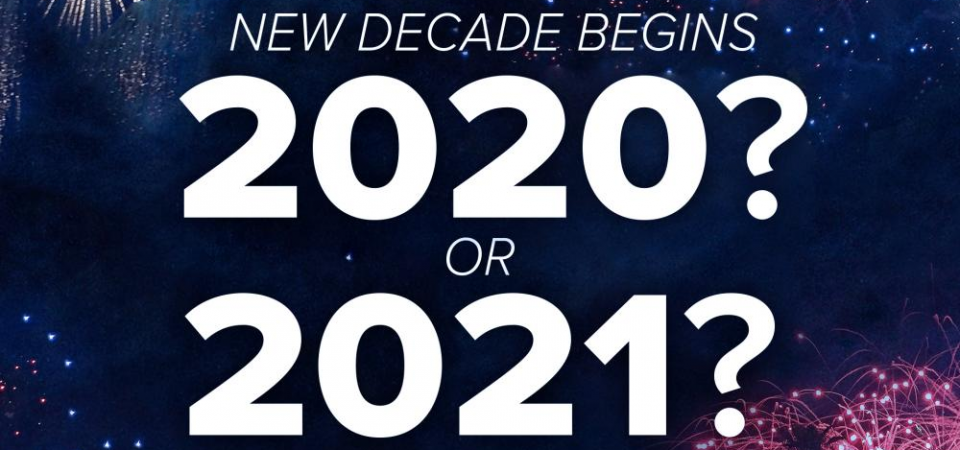 When Does the Decade Begin, 2020 or 2021?