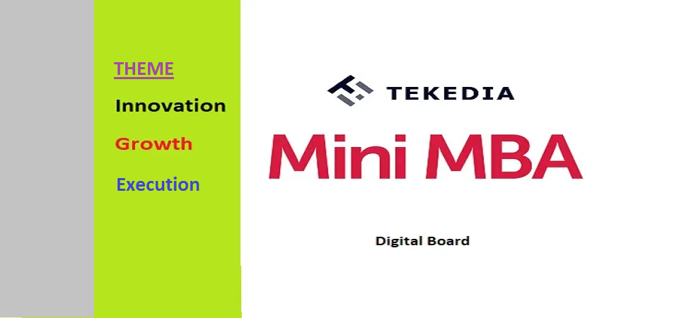 Digital Board for Tekedia Mini-MBA (Registered Members Area)